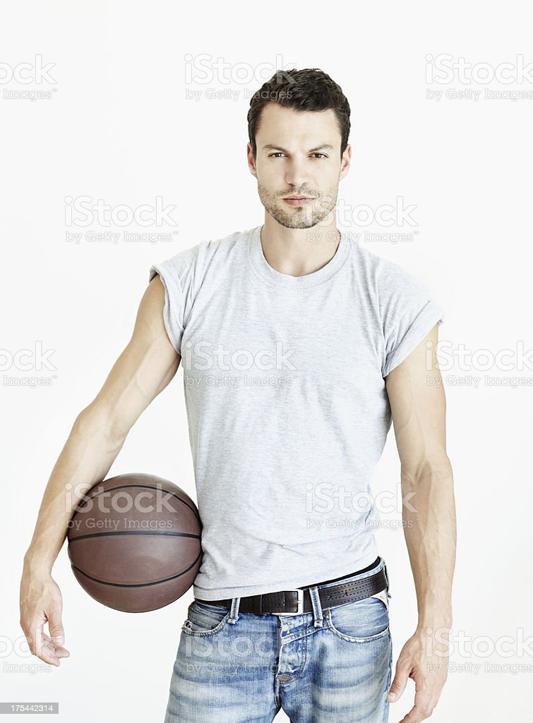 Do you want to take him on? royalty-free stock photo