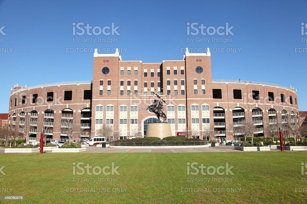 Doak Campbell Stadium stock photo