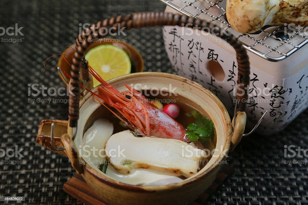 Dobinmushi stock photo