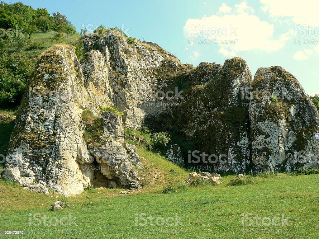 Dobrogea Gorges, Romania stock photo