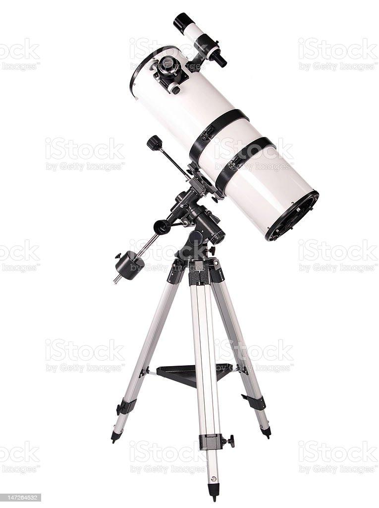 Dobsonian telescope royalty-free stock photo