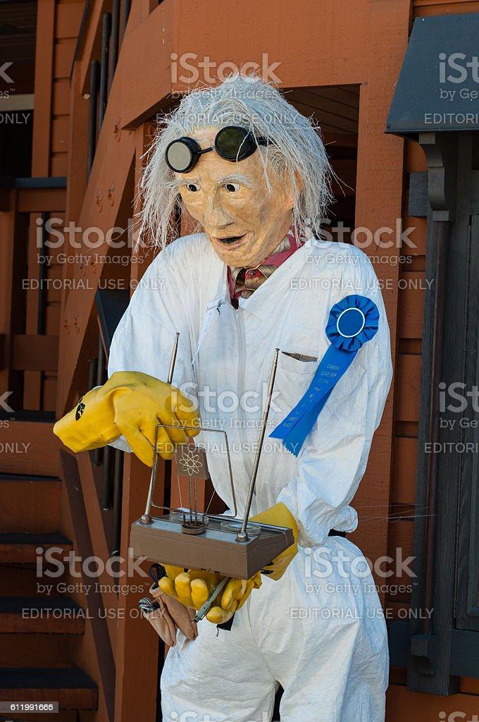 Doc Brown stock photo