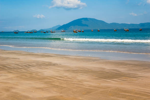 Doc Let Beach In Vietnam stock photo