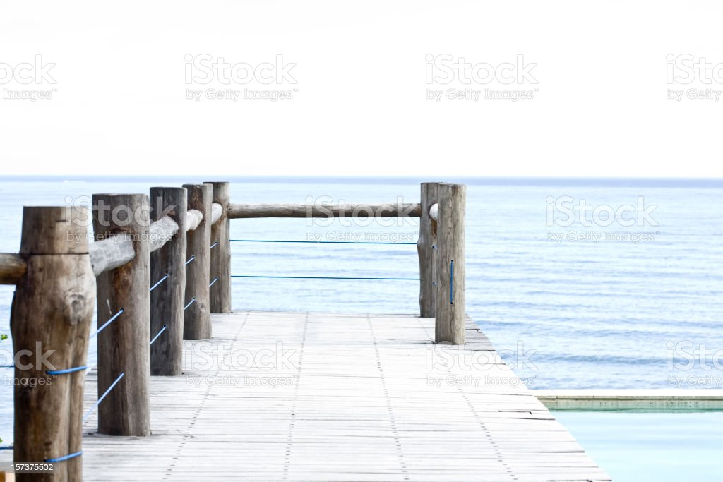 Dock. royalty-free stock photo