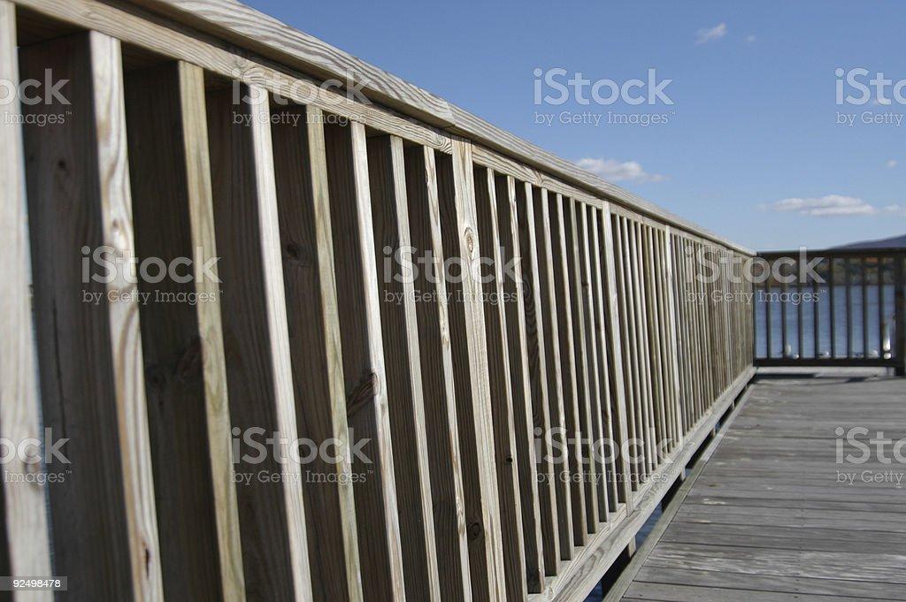 Dock Shot royalty-free stock photo