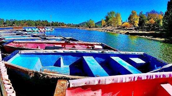 lake cuyamaca - julian, ca