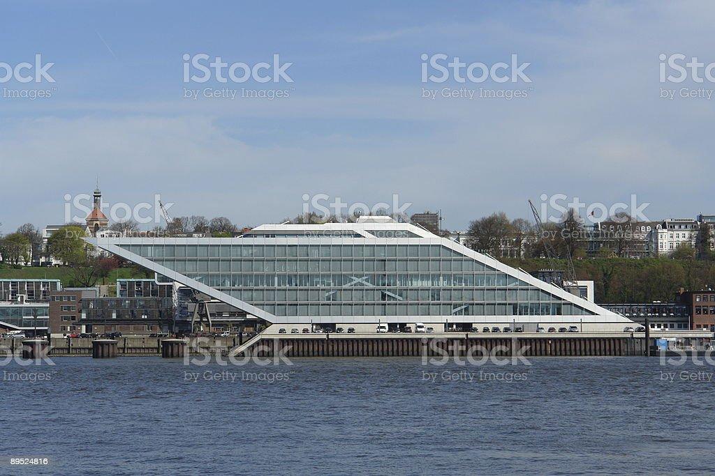 Dockland royalty-free stock photo