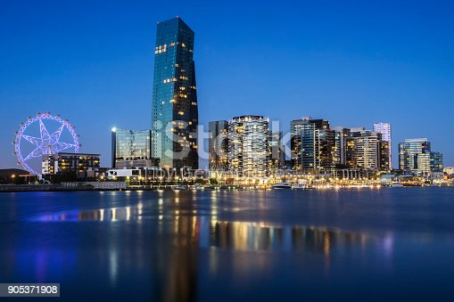 824736840 istock photo Docklands, Melbourne 905371908