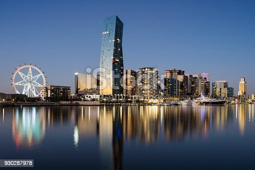 824736840 istock photo Docklands, Melbourne 930287978