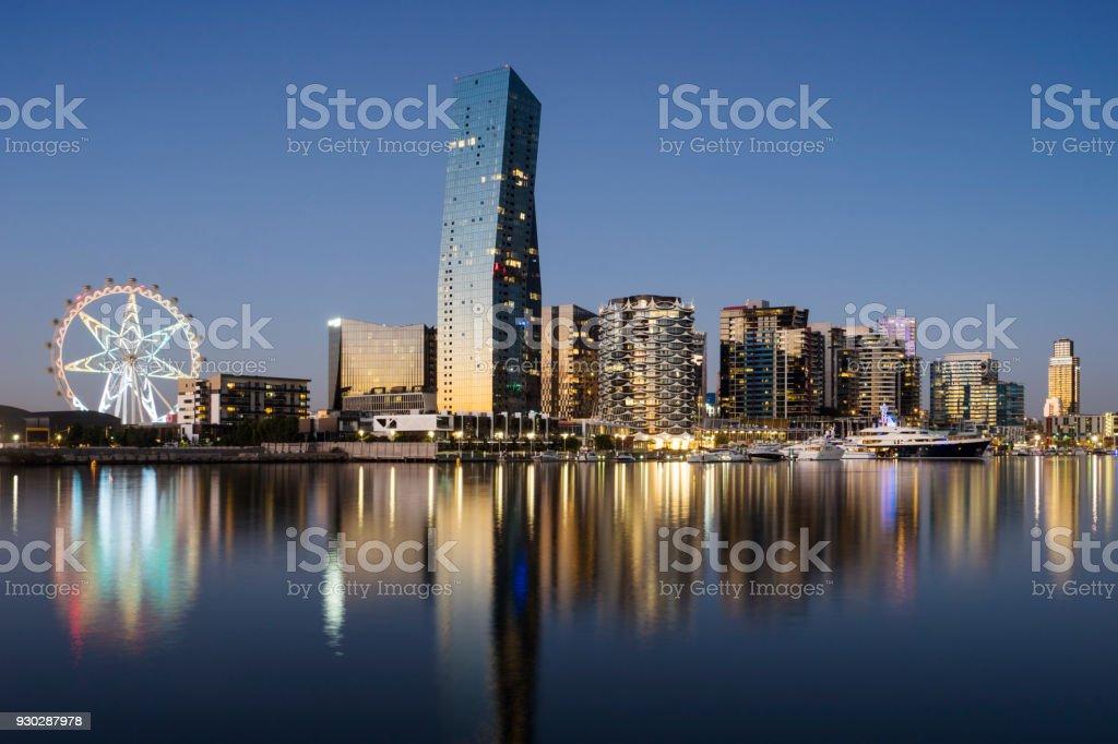 Docklands, Melbourne stock photo