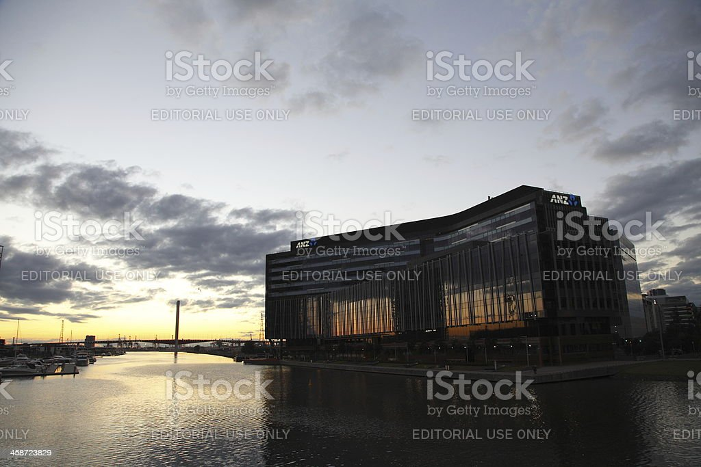 ANZ Docklands stock photo