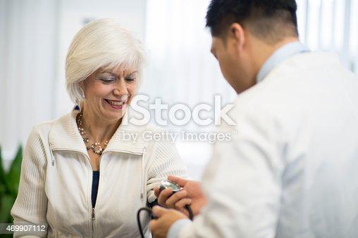 522625266istockphoto Docor and Senior Patient 469907112