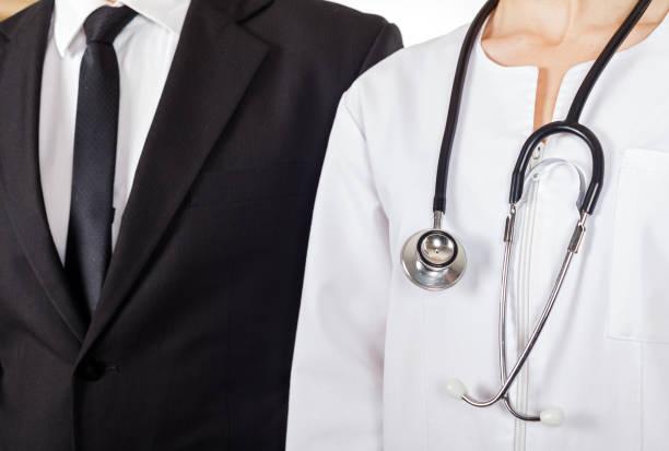 Arzt und Geschäftsmann – Foto