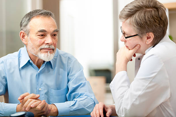 Doctor and patient deep in thought in a medical exam picture id174280011?b=1&k=6&m=174280011&s=612x612&w=0&h=4mjwqsj4emko j3ogvfzbzgcyb4suxm6xhq6pz5rxfa=