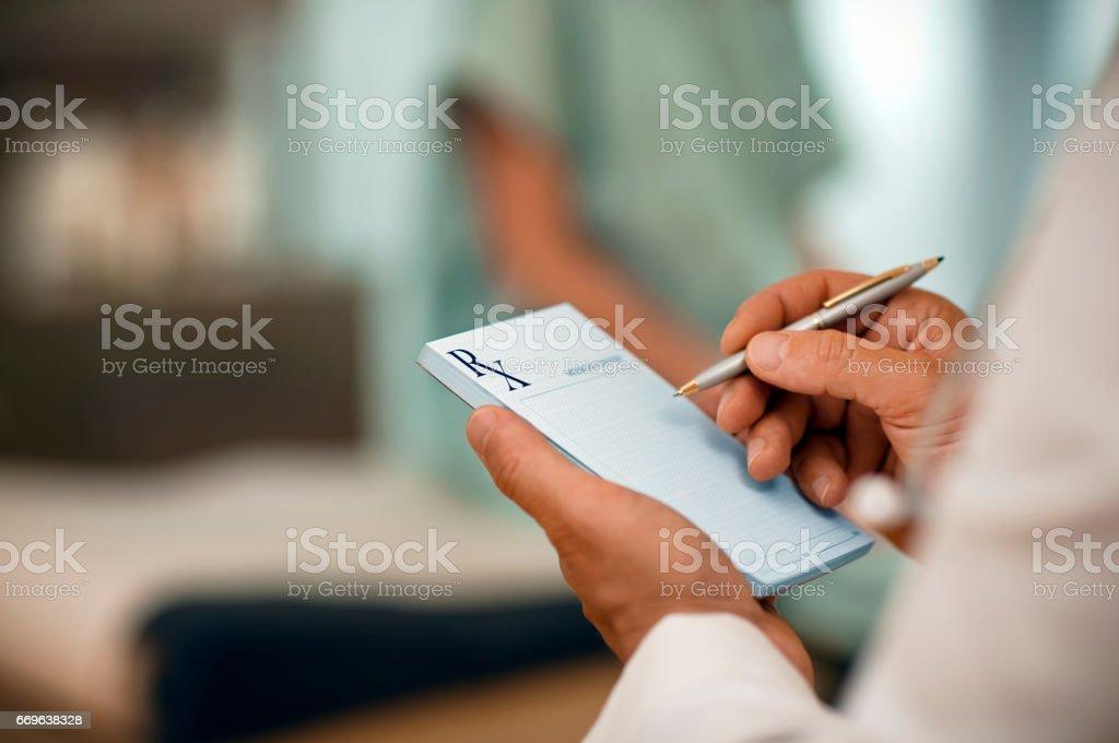 Arzt und Patient – Foto