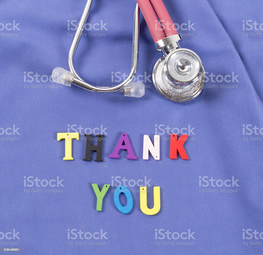 doctor and stethoscope stock photo