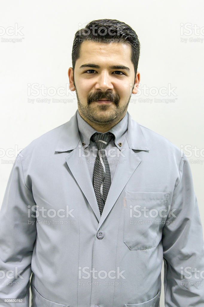 doctor apron stock photo