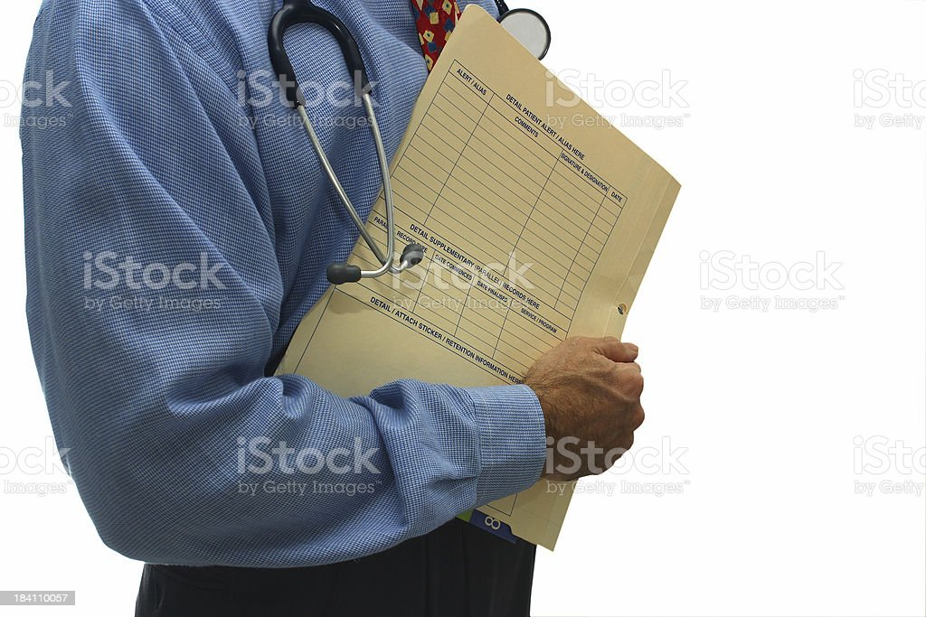 doctor at large royalty-free stock photo
