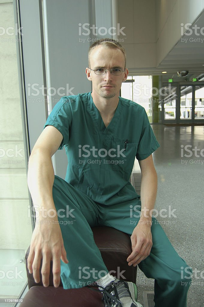 Doctor at the Hospital royalty-free stock photo