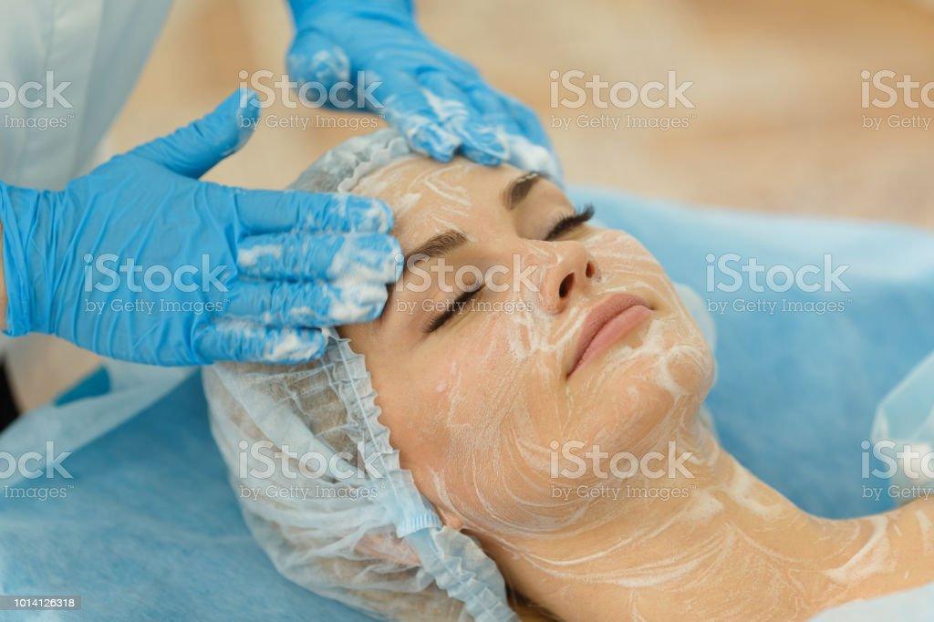 Arzt - Kosmetikerin hält Empfang – Foto