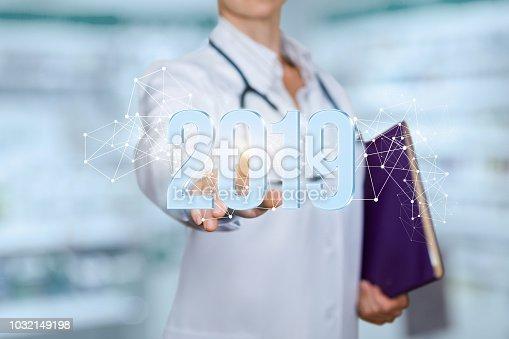 istock Doctor clicks 2019 figures. 1032149198