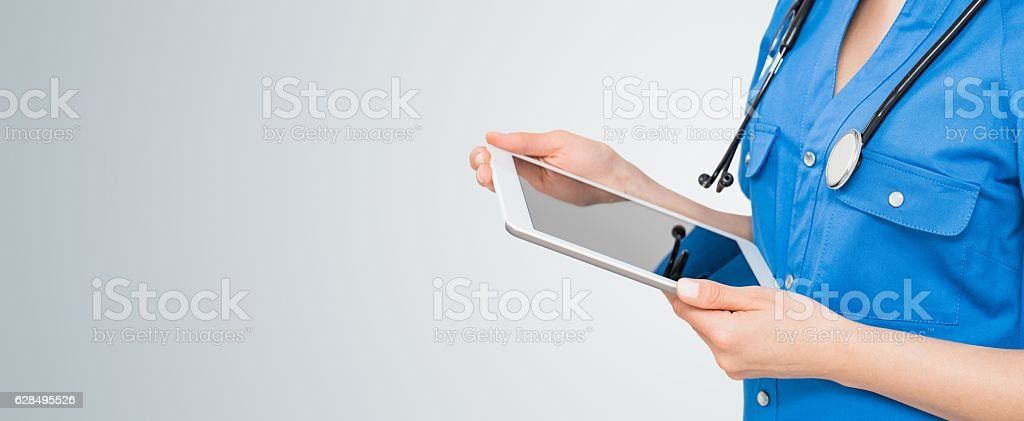 Doctor concept background. stock photo