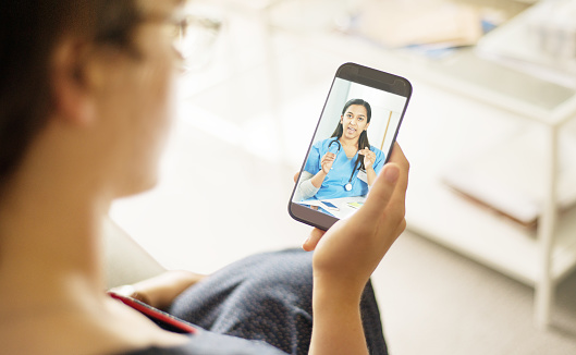 istock Doctor consultations are just an app away 1062130136