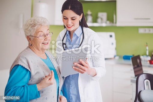 istock Doctor consulting her patient 962240150