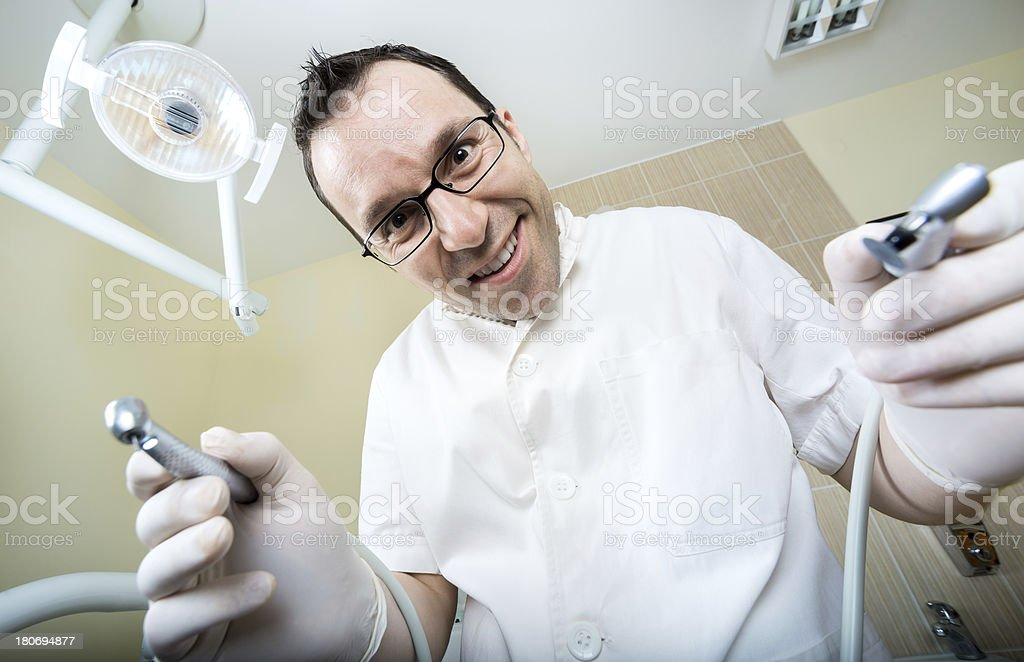 doctor dentist royalty-free stock photo