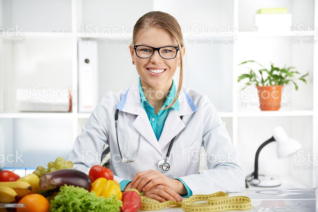Arzt dietitian – Foto