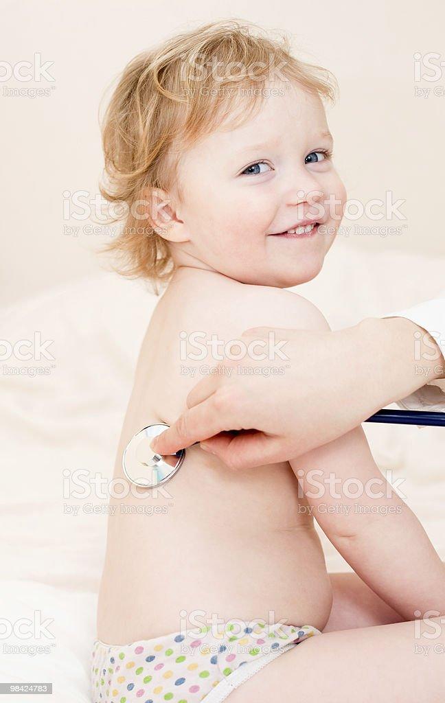 Doctor exam royalty-free stock photo