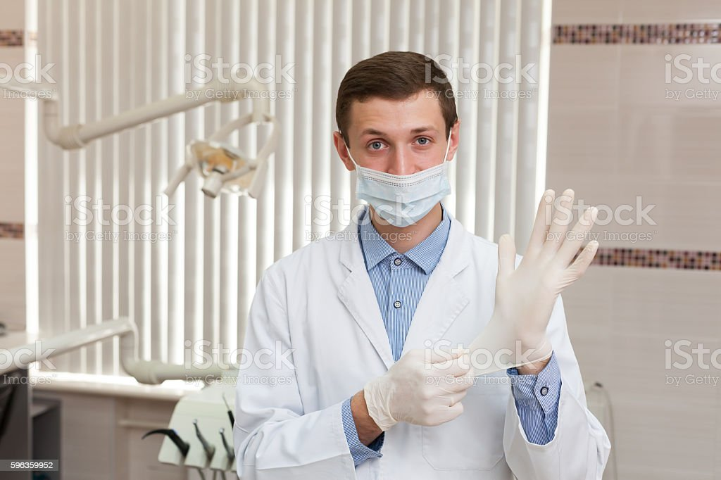 Doctor hands royalty-free stock photo