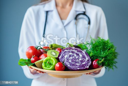 Healthy Eating, Healthy Lifestyle, Healthcare And Medicine, Doctor, Vegetables