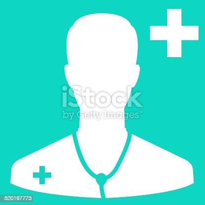 istock Doctor icon 520167773