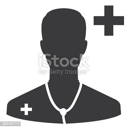 istock Doctor icon 520167777