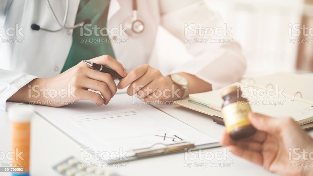 Doctor medical and healthcare concept royalty-free stock photo