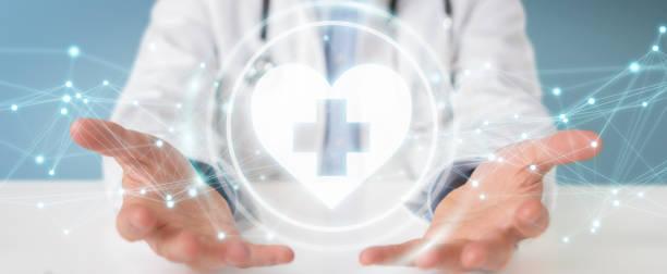 Doctor on blurred background holding heartbeat digital interface 3d picture id1219655255?b=1&k=6&m=1219655255&s=612x612&w=0&h=3ww5yinjylbtfmd5sz8yfsdx53jech636ow0hzkrtt4=
