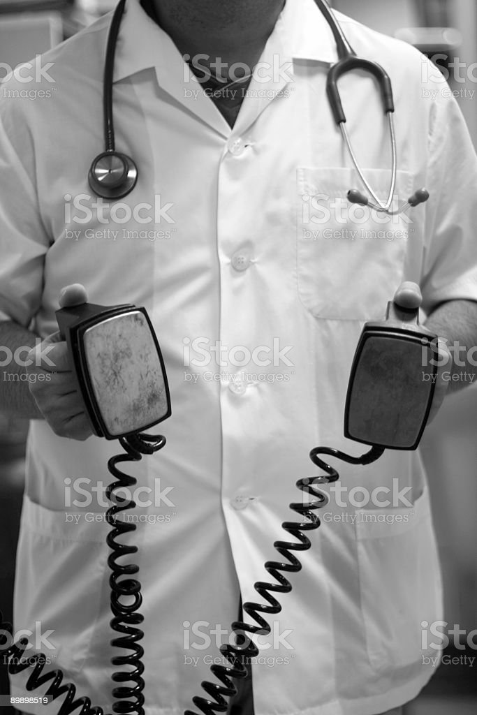 doctor on work royalty-free stock photo
