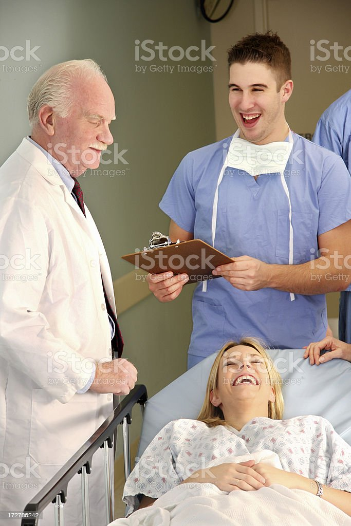 Doctor Patient Relationship 2 royalty-free stock photo