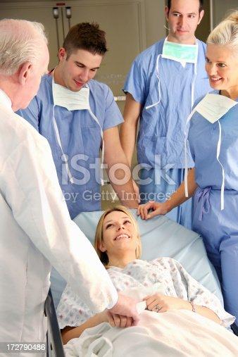 629429900istockphoto Doctor Patient Relationship 172790486