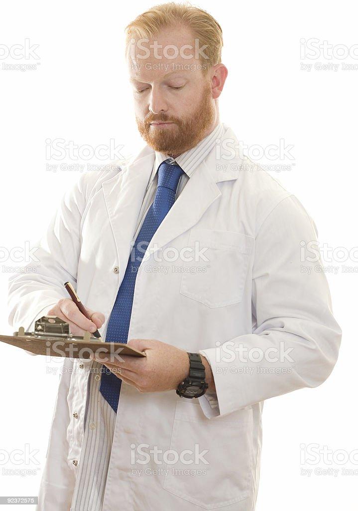 Doctor, Pharmacist, Laboratory worker royalty-free stock photo