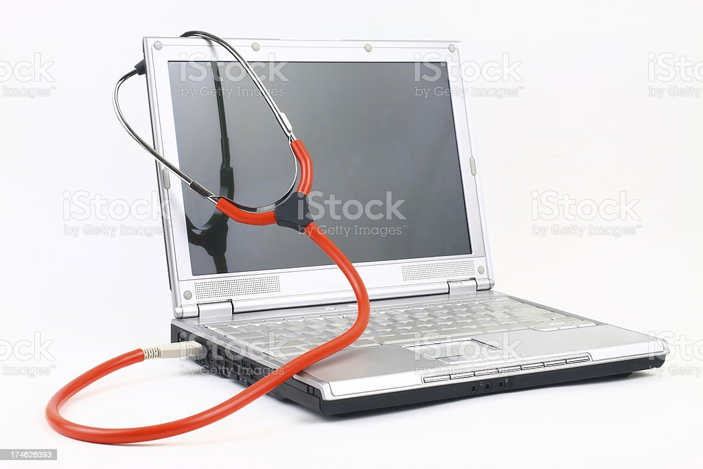 PC Doctor royalty-free stock photo