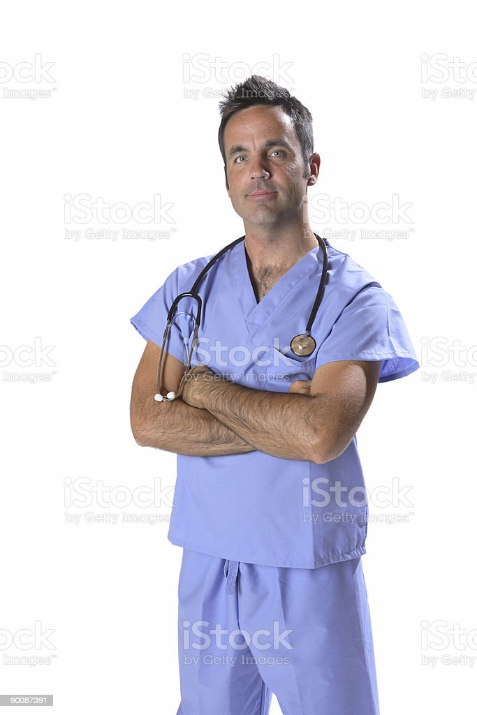 Doctor portrait royalty-free stock photo