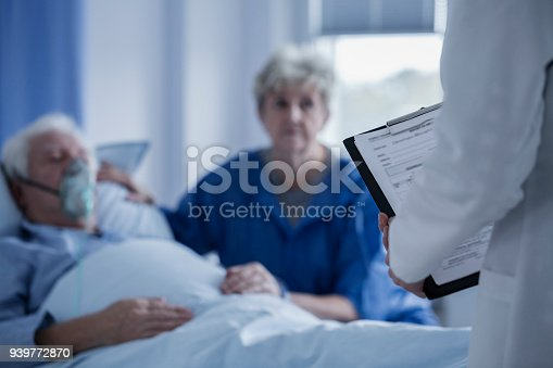 886711404 istock photo Doctor presenting test results 939772870