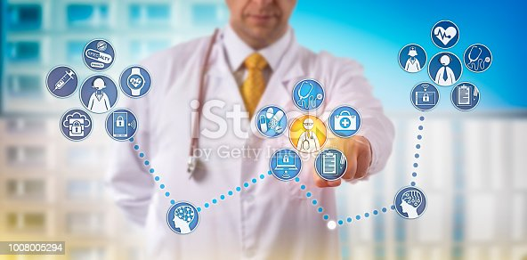 istock Doctor Providing Specialty Telemedicine Remotely 1008005294