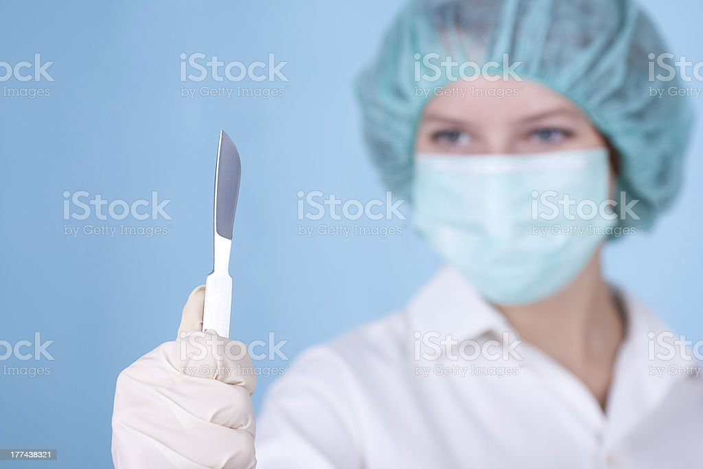 Doctor surgeon royalty-free stock photo