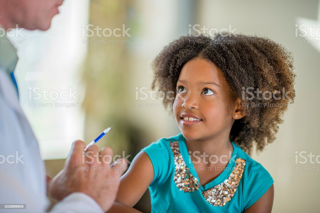 Doctor Talking to a Patient stock photo