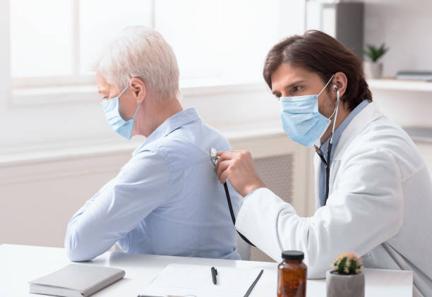 Doctor using stethoscope listening to senior patients breathing picture id1222195729?b=1&k=6&m=1222195729&s=612x612&w=0&h=crzfnbqzin 8mg2zyxoamgvudiqglypzdzy 4b1ra y=