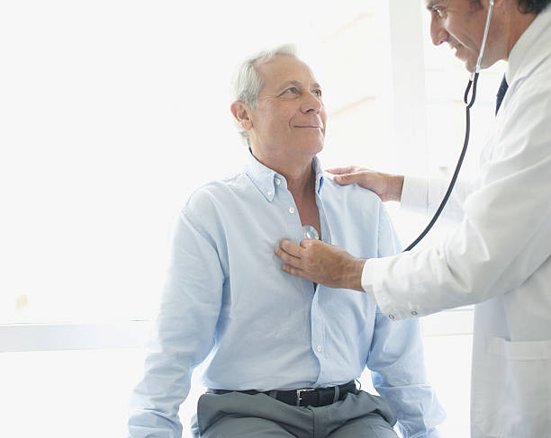 Doctor using stethoscope on smiling patient picture id81724471?b=1&k=6&m=81724471&s=612x612&w=0&h=4hnep1azhxi3d4peawansbhfqloiyd9yvgvefvphta0=