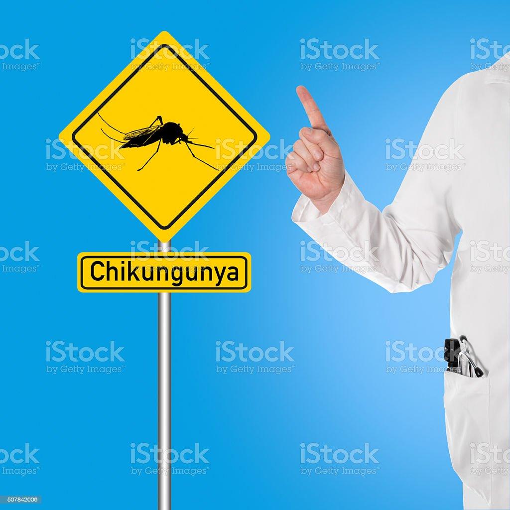 Doctor warns of Chikungunya stock photo